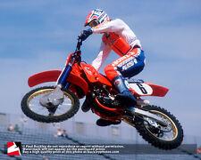 16x20 photo, Team Honda's David Bailey at the 1986 Daytona Supercross