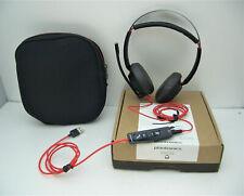 Plantronics Blackwire C5220 Stereo USB-A & 3.5mm Headband Headset 207576-01 NEW