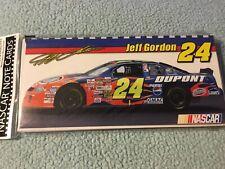 NASCAR Jeff Gordon #24 Note Cards & Envelopes 6ct (NEW)