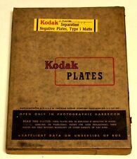 KODAK 5X7  SEPARATION GLASS PLATES--2 PLATES--VINTAGE AND COLLECTIBLE!