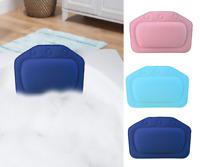 Luxury Bath Pillow Spa Cushioned Spongy Relaxing Bathtub Cushion 3 Suction Cups