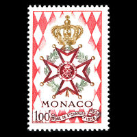 Monaco 1958 - Creation of National Order of St. Charles - Sc 410 MNH
