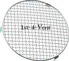 "8"" 200mm CIRCULAR MESH GRILLE VENT, FINGER GUARD for DUCTING, EXTRACTOR FANS"