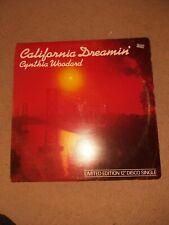 "Cynthia Woodard  - California Dreamin'  - 12"" Vinyl Single"