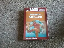 atari 2600 video game cartridge realsports soccer new sealed freepost