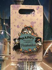 Disney Halloween 2020 Mickey Donald Goofy Passholder Pin LE 5000