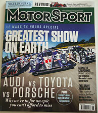 June Motorsport Sports Magazines