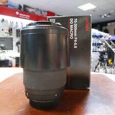 Used Sigma DG 70-300mm f4-5.6 Macro lens in Nikon fit - 1 YEAR GTEE