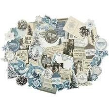 Kaisercraft FROSTED Collectibles Ephemera Die Cuts CT864