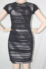 $NEW WOMEN'S BCBG MAX AZRIA AISLINN DRESS  SZ S= 7  BLACK /COMB CAP SLEEVE