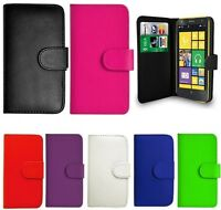 PU LEATHER BOOK WALLET CASE COVER FOR NOKIA LUMIA 640 N640