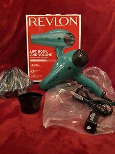 Revlon Professional 1875W Ionic Hair Blow Dryer Volume With Diffuser Salon Pro