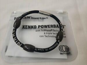 "Nikken  PowerBand Magnetic Bracelet Size Large (8.7"") - New"