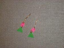 Vintage Barbie - Swirly-Q Earrings
