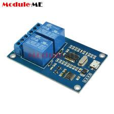 Micro Usb 5v 2 Channel Relay Module Usb Control Relay Module Serial Port