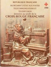 France : Carnet Croix Rouge 1980 Neuf