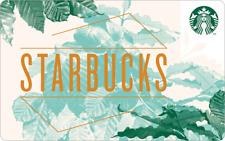 Starbucks Korea 2019 Gold Wordmark Card