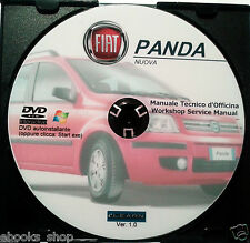 DVD MANUALE TECNICO D'OFFICINA FIAT NUOVA PANDA 1.1-1.2-1.3-1.4 8-16V-4x4-ZFA169