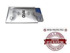 RFID Sin contacto Protector de tarjeta de crédito/débito billetera robada ID proteger manga.