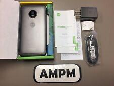 Motorola MOTO G5 Plus XT1687 32GB Lunar Grey GSM Unlocked Smartphone Great 8/10