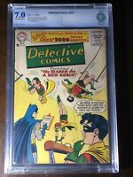Detective Comics #237 (1956) - Search for a New Robin!!! - CBCS 7.0!!! (Not CGC)
