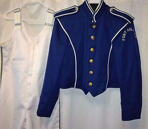 "Marching Band Uniform ""Fruhauf"" Blue/White-Costume/Theater/Halloween"