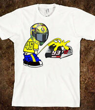 Details zu  Valentino Rossi VR 46 T-Shirt Moto GP Marques Lorenzo NEU Größe L