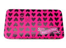 Monster High Skull Designer Wallet Women Girls Credit Card Holder ID Coin Pocket