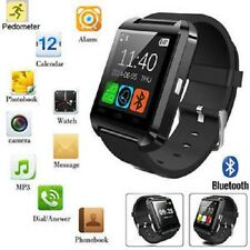 Bluetooth Smart Watch Phone Pedometer For Android iPhone Samsung HTC Huawei