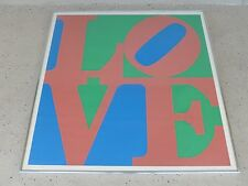 RARE AUTHENTIC ROBERT INDIANA LOVE 5 PRINT SIGNED ARTIST PROOF DATED 1970