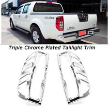 For Nissan Frontier 2005 2011 2012 2013 2014 2015 Chrome Rear Tail Light Covers Fits 2011 Nissan Frontier
