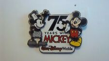 *~* Disney Wdw 75 Years With Mickey 3D Steamboat Willie Pin *~*