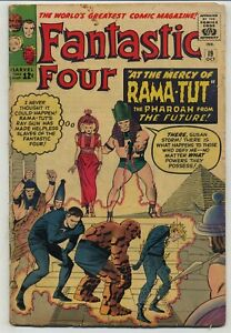 Fantastic Four 19 First Rama-Tut/Kang the Conqueror