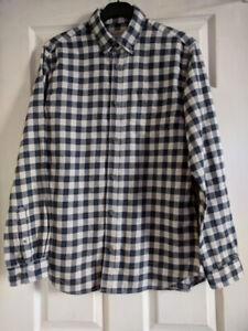 JACK & JONES Originals Mens Flannel Shirt Size M