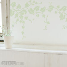 Trailing Ivy Wall Stencil Home Decor DIY Projects The Stencil Studio