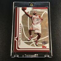 LEBRON JAMES 2006 TOPPS #HM3 HOBBY MASTERS FOIL INSERT CARD CAVALIERS NBA