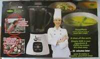 SOUP MATE PRO JUMP START 7-DAY SOUP DIET GOURMET BLENDER SYSTEM ++ - NEW IN BOX