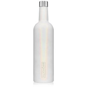 NEW BRUMATE WINESULATOR™ 25 OZ WINE CANTEEN | GLITTER WHITE