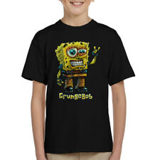 Spongebob Parody Grungebob Kid's T-Shirt