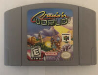 Cruis'n World (Nintendo 64, 1998) Clean/ Tested/ Authentic