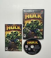 Incredible Hulk: Ultimate Destruction (Sony PlayStation 2, 2005)  COMPLETE!!