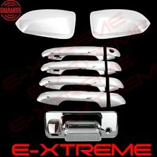 For 2016-2017 TOYOTA TACOMA Chrome Cover Combo Mirrors+Door Handles+Tailgate