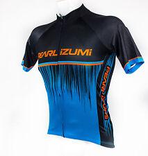 Pearl Izumi 2017 Elite Pursuit LTD Cycling Jersey Black/Bel Air Blue Rush, Small