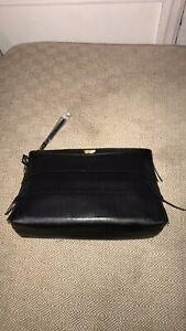Victoria Secret Women's Makeup Bag Travel Bag Holiday Gift In Black