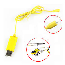1PC RC Helicopter Syma S107 S105 USB Mini Charger Charging Cable Parts New