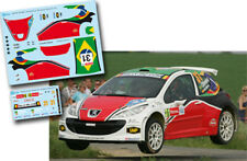 Decal 1:43 Daniel Oliveira - PEUGEOT 207 S2000 - Rally Ypres Ieper 2010
