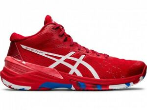 ASICS Volleyball Shoes SKY ELITE FF MT L.E 1051A040 CLASSIC RED / WHITE