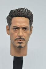 HOT FIGURE TOYS 1/6 Tony headplay Iron man High quality new edition Custom