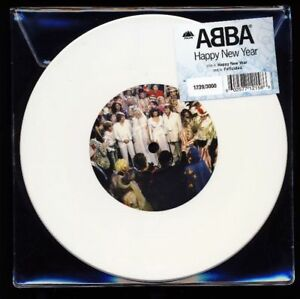 ABBA - Happy New Year - Felicidad 7 Inch Limited White Vinyl 2018 No. 2166/3000