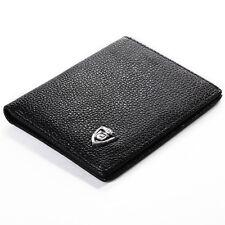 Portefeuille Homme Cuir Porte Monnaie Pliante Poche Pochette crédit Carte MT230